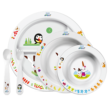 Avent Komplet za hranjenje male djece, 6+ mjeseci