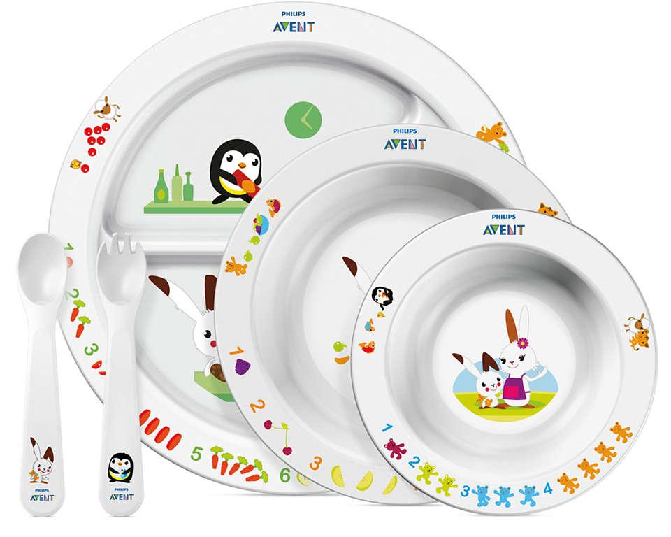Stimola l'alimentazione tramite l'apprendimento divertente