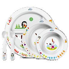 SCF716/00 - Philips Avent  6 ay+ çocuklar için beslenme seti