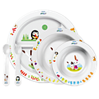 Avent Дитячий столовий набір для дітей від 6міс.