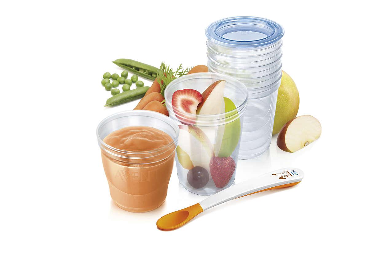 Ideální pro skladování potravin doma i na cestách