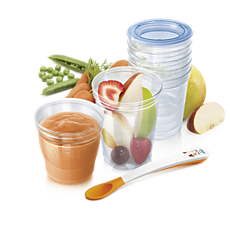 SCF720/10 Philips Avent Avent Becher zur Nahrungsaufbewahrung