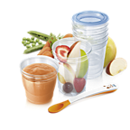 Aventi toidu säilitamise tassid