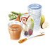 Copos de armazenamento de alimentos Avent