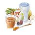 Avent-matförvaringsmuggar