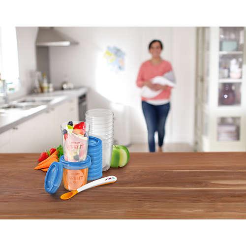Avent Recipient de stocare hrană