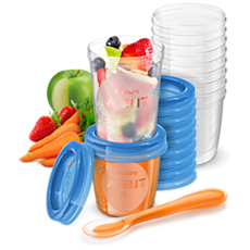 SCF721/20 - Philips Avent  Vaso de almacenamiento de comida