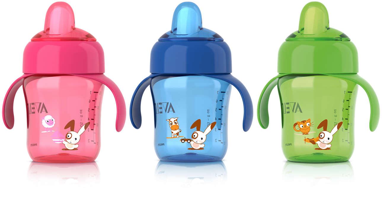 Ventil hindrer søl og gjør koppen hygienisk overalt
