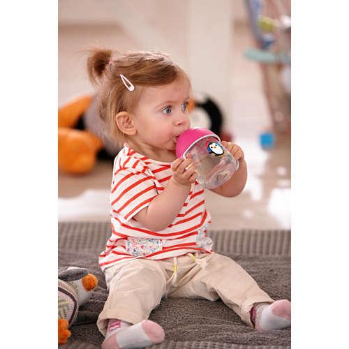 Avent Beker met drinktuit