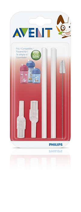 Préserve l'hygiène de votre gobelet à paille