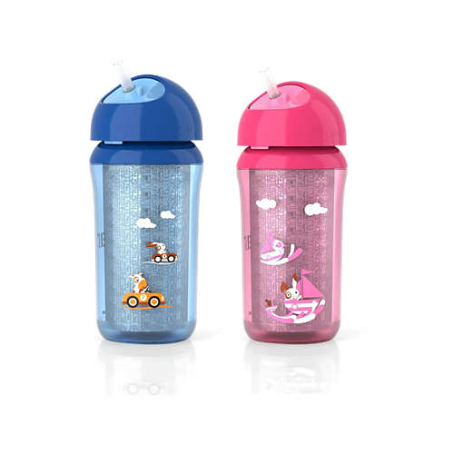 Avent Insulated Straw Cups