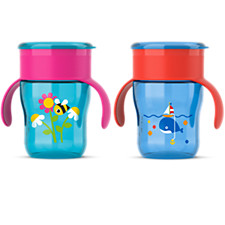 Spoutless cups