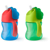 My bendy straw cup 7oz/200ml 9m+ 2-pack Straw Cups