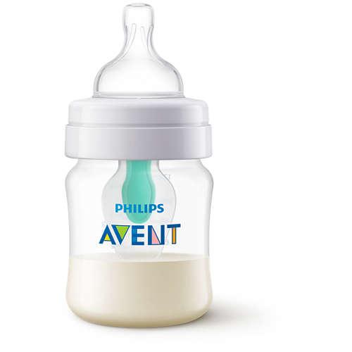 Avent Butelka Anti-colic 125ml z nakładką Air Free™