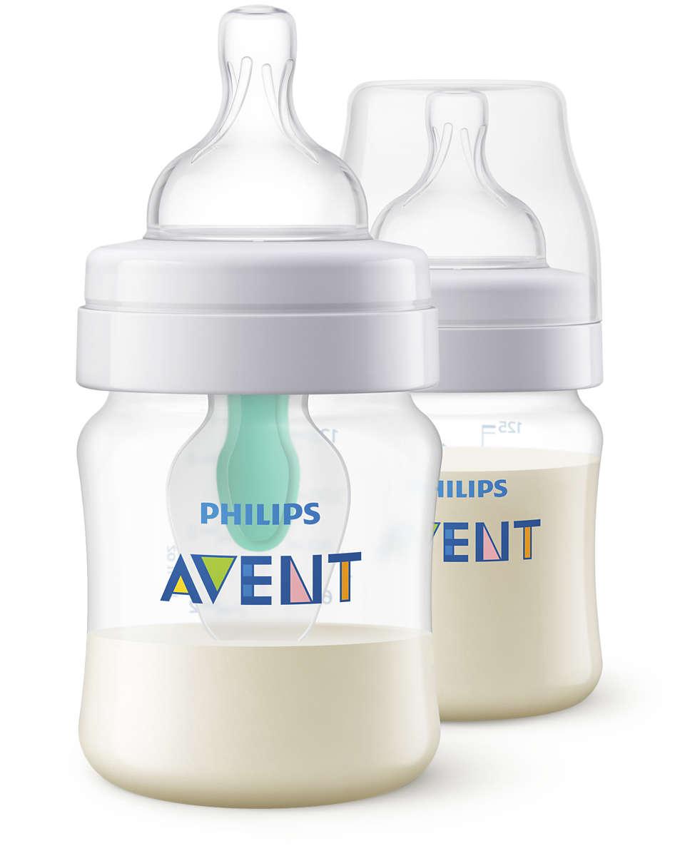 Conçue pour réduire les coliques, les gaz et les reflux*