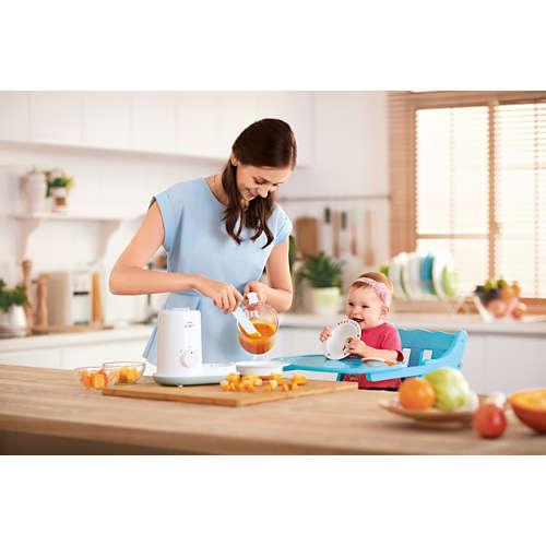 acheter robot cuiseur mixeur pour b b essential cuisez mixez servez scf862 02 en ligne. Black Bedroom Furniture Sets. Home Design Ideas