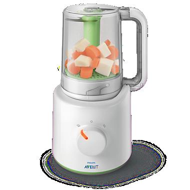 Avent Pembuat makanan bayi sehat 2-in-1