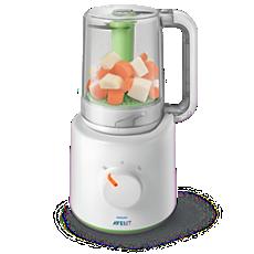 SCF870/21  جهاز تحضير الطعام الصحي للأطفال 2 في 1