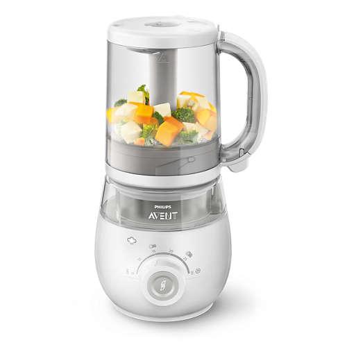 4-in-1 healthy baby food maker