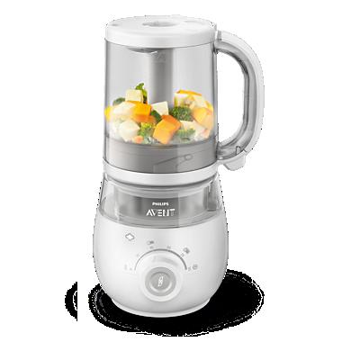 Robot cuiseur-mixeur 4-en-1 pour bébé