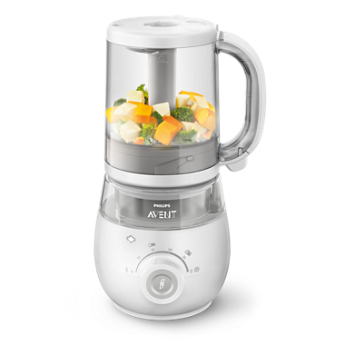 4-in-1 healthy baby food maker