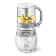 SCF875/06 -    4-in-1 healthy baby food maker