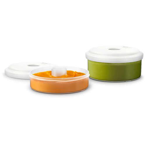 Avent Förvaringsburkar för färsk mat