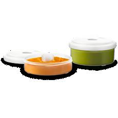 SCF876/02 Philips Avent Fresh food storage pots