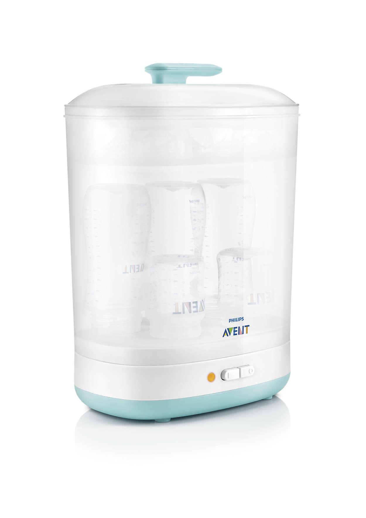 Microwave steam sterilizer scf281/05 | avent.