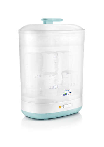 Avent 2-in-1 electric steam sterilizer