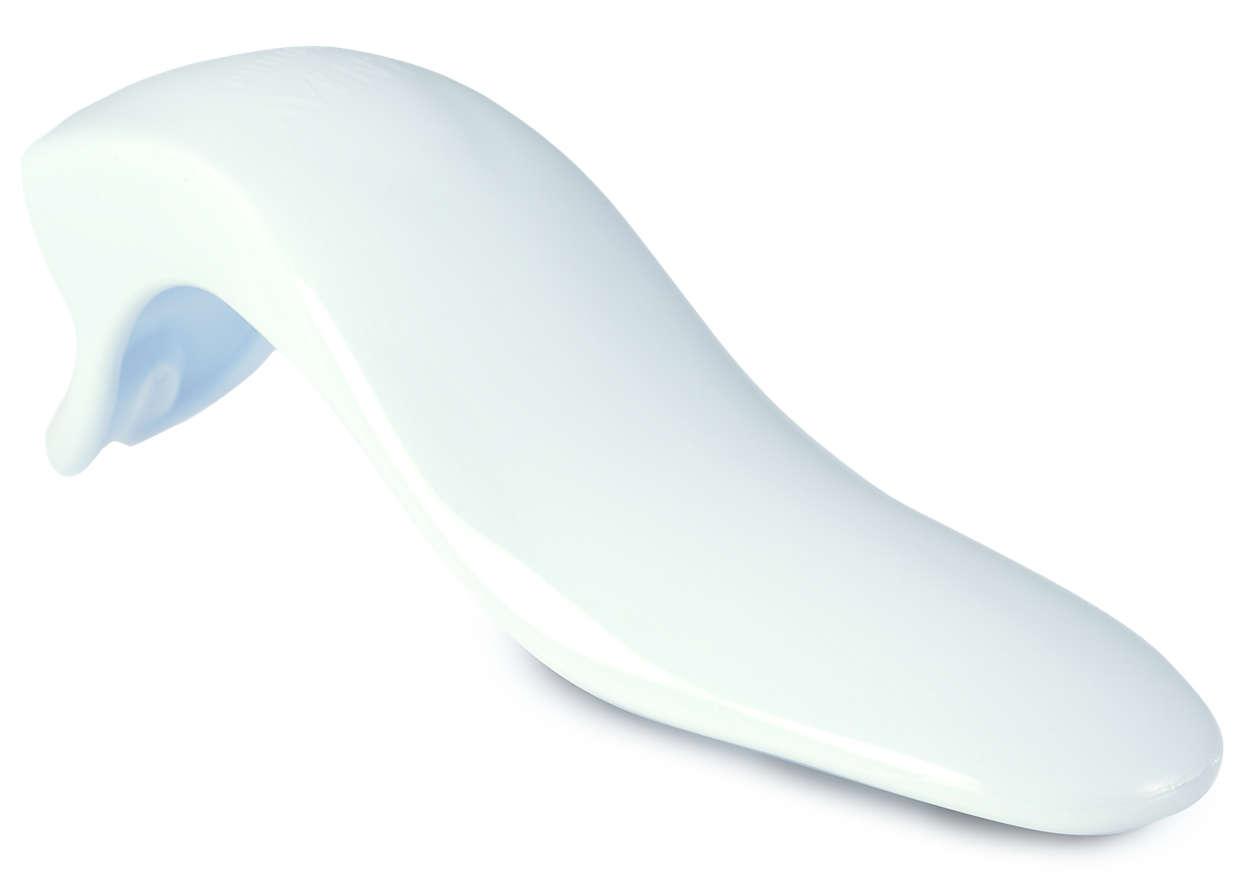 Het membraan van de borstkolf in beweging brengen
