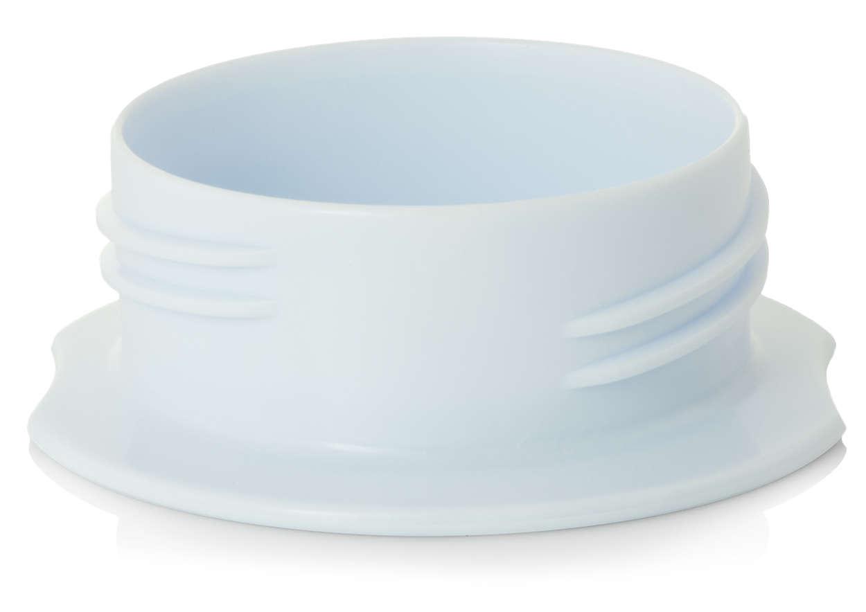 Para transportar las tetinas higiénicamente
