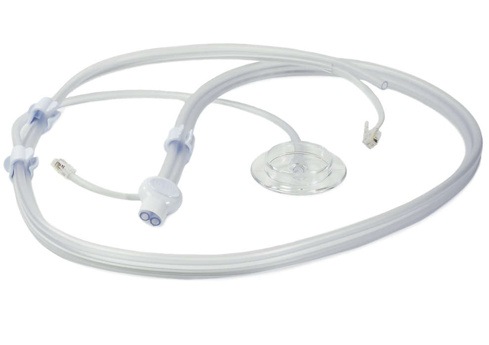 Forbinder forskellige dele af brystpumpen