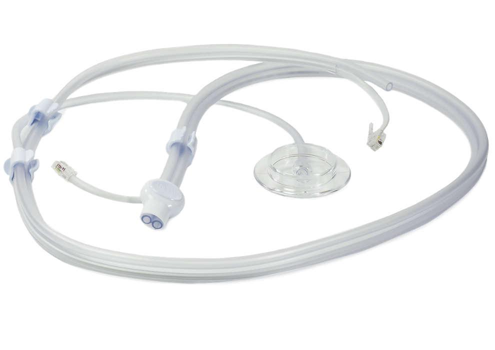 Ansluter olika delar till bröstpumpen