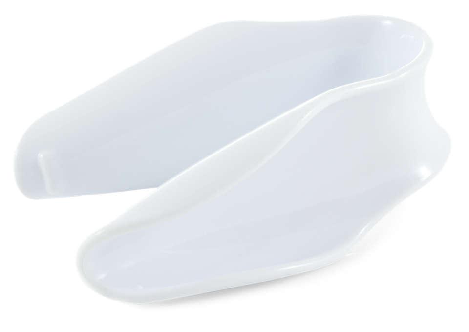 Para manipular las tetinas higiénicamente