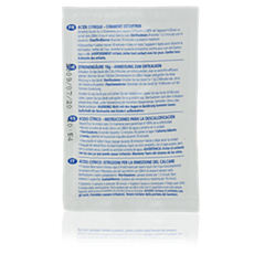 SCF943/01  Descaling powder for steriliser