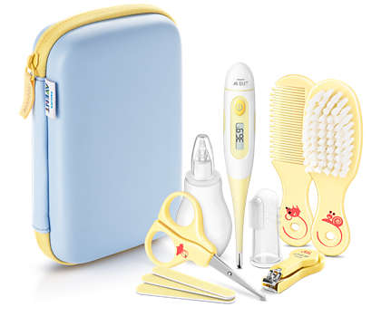 My first baby care set