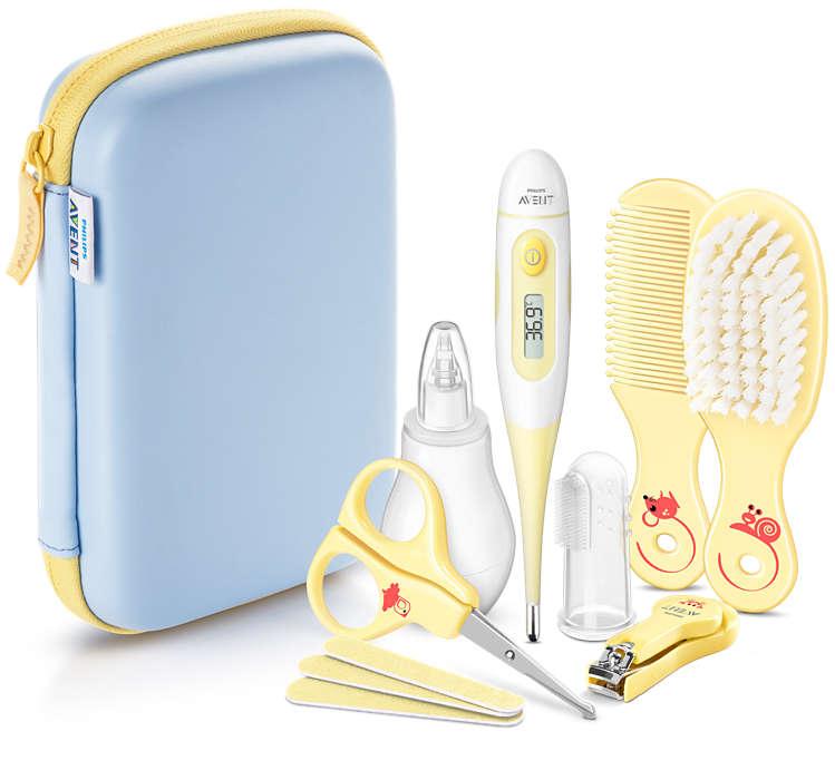 Mi primer kit para el cuidado del bebé