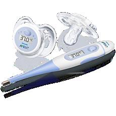 SCH540/00 - Philips AVENT  Kit de termómetros digitales para bebés