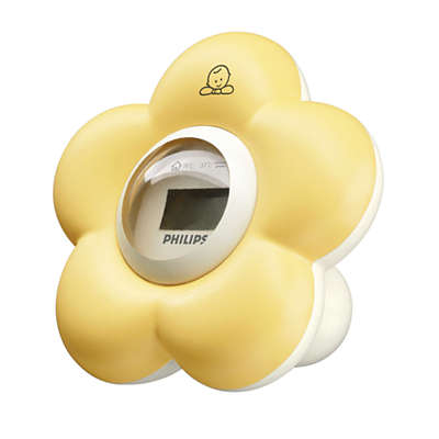 Thermometre Bain Et Chambre Pour Bebe Sch550 00 Avent
