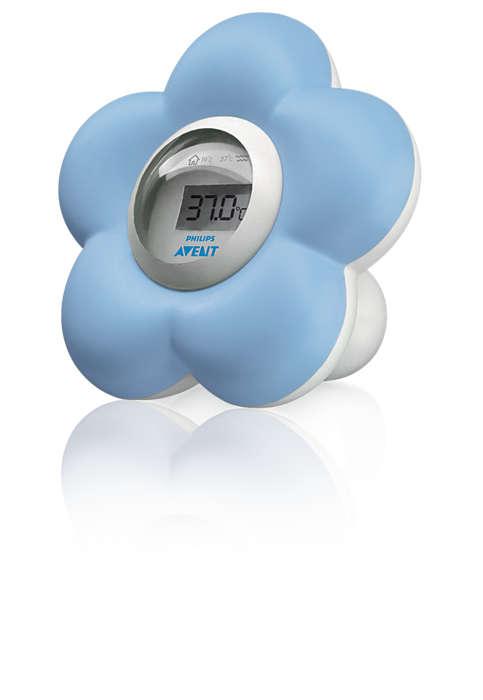 Tarkka lämpötilan mittaus