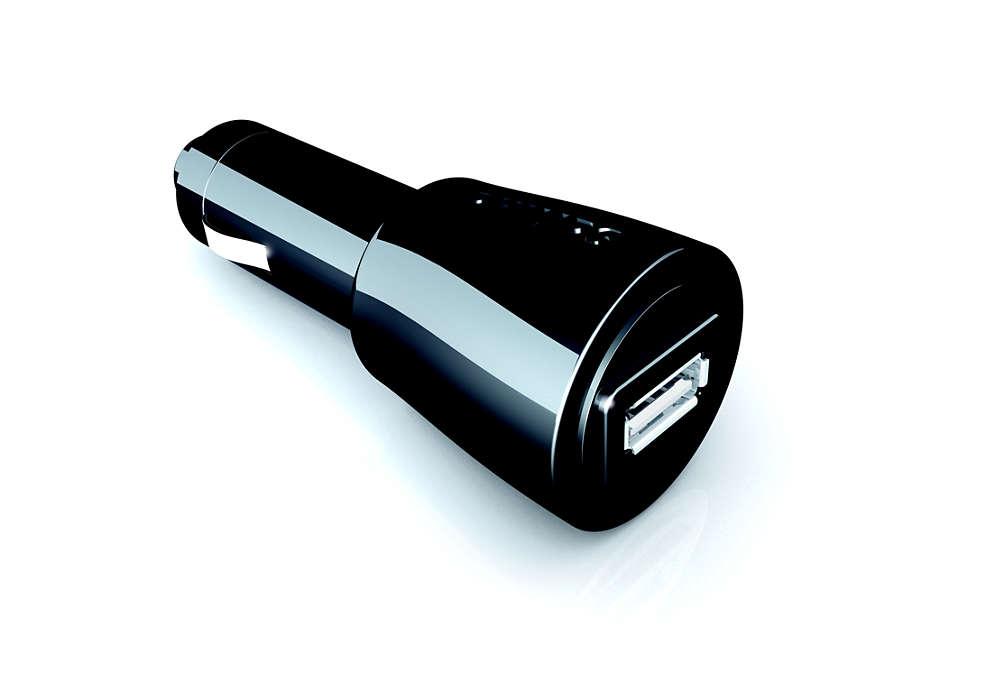 Univerzálna USB nabíjačka do auta