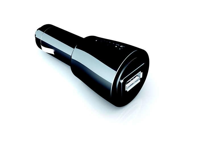 Univerzalni avtomobilski polnilnik USB