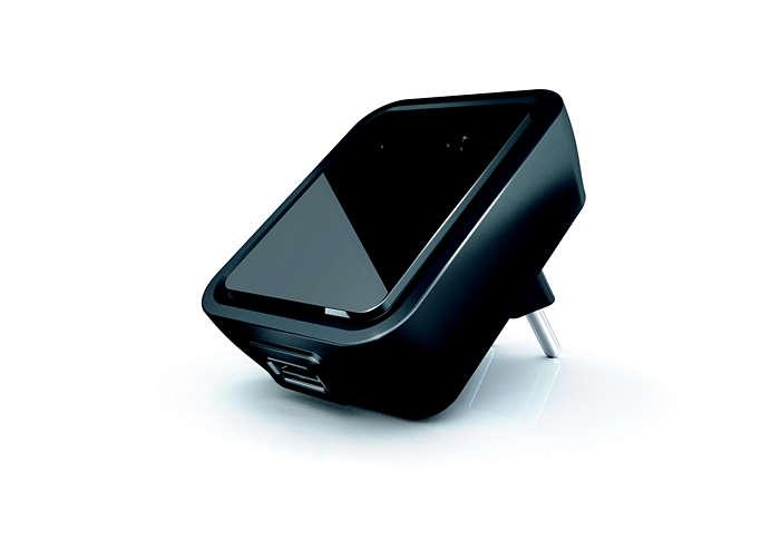 Univerzalni polnilnik USB