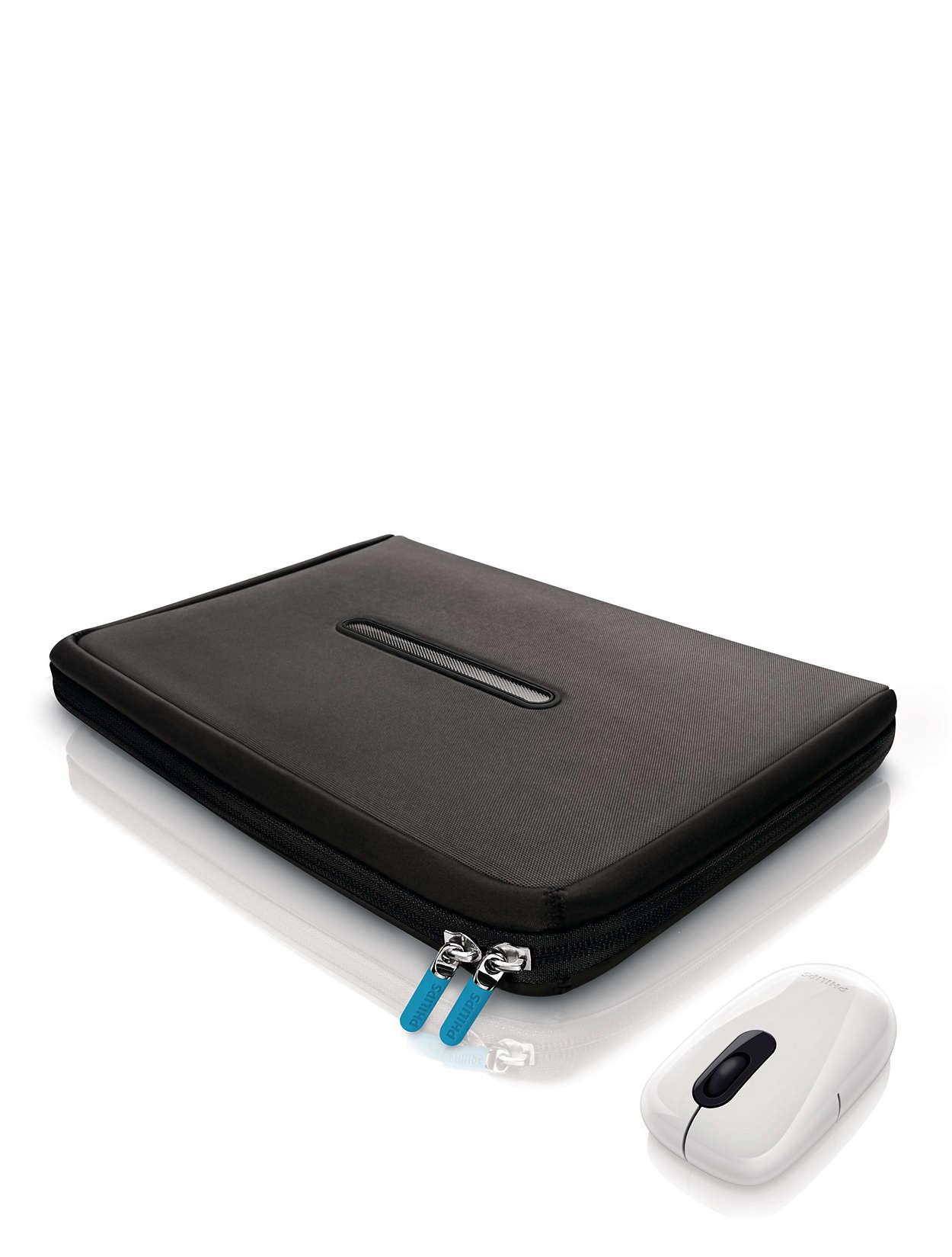 Pochette avec HeatProtect et souris réglable