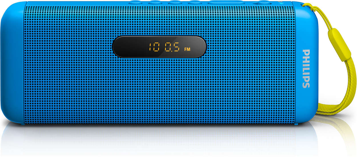 Your all-in-one wireless portable speaker