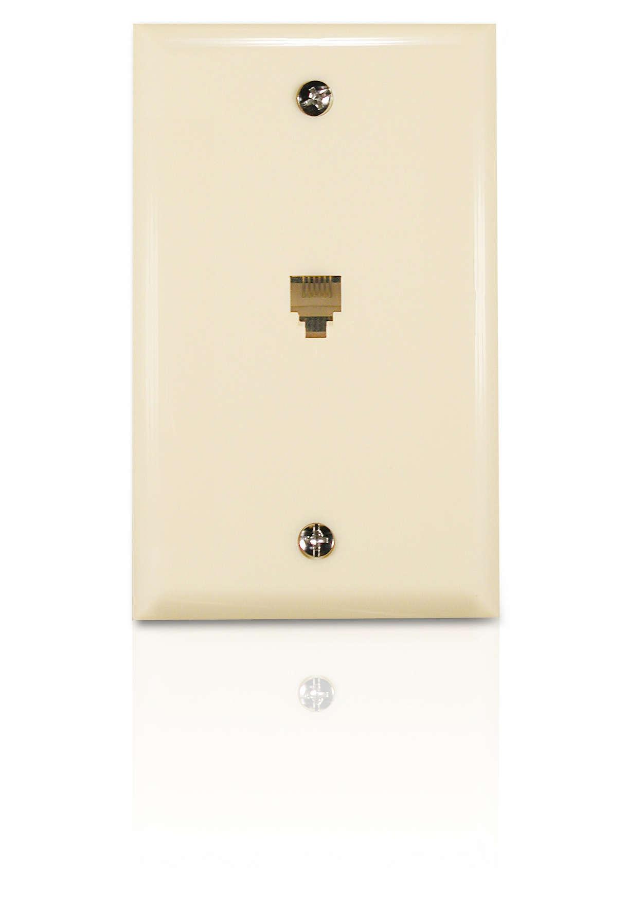 Create a phone jack