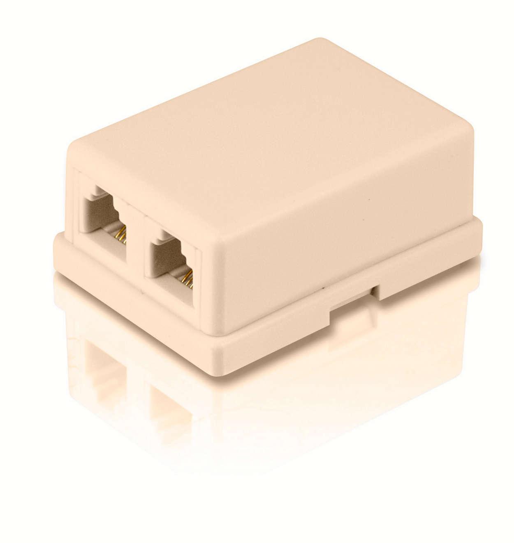 Mount a modular duplex jack