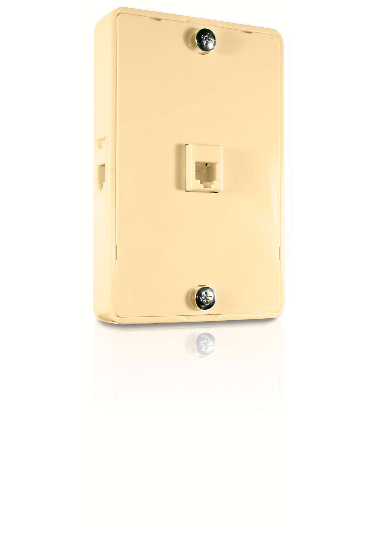 Convert one phone jack into three separate jacks.