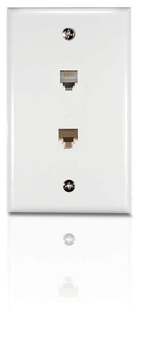 Connect a phone and modem